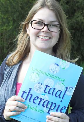 Chantal de Wit presenteert haar boek